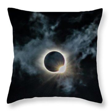 The Diamond Ring 2017 Throw Pillow