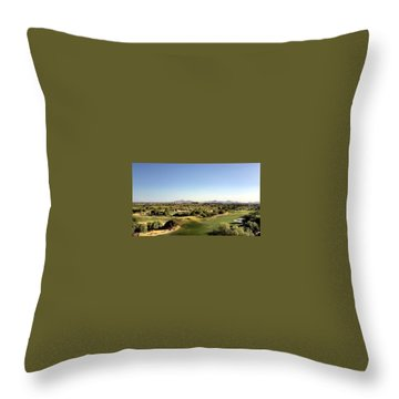The Distance Throw Pillow