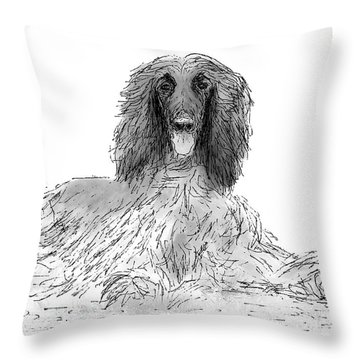 The Diva Throw Pillow