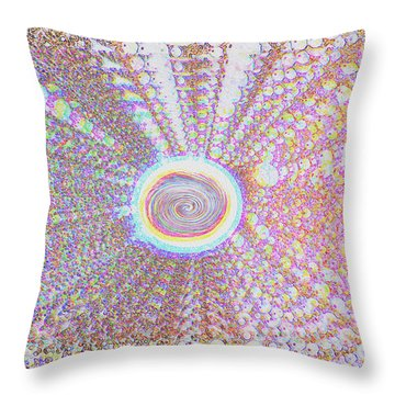 The Divine Light   Throw Pillow
