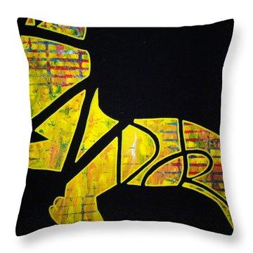 The Djr Throw Pillow
