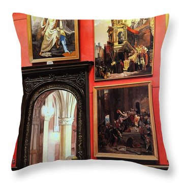 The Docent Throw Pillow
