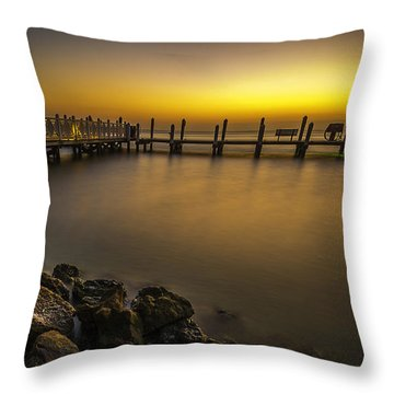Captiva Sunrise Throw Pillow