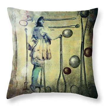 The Doctor Will See You Now Throw Pillow