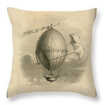 The Domitor Throw Pillow