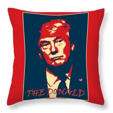 The Donald Throw Pillow