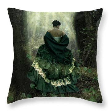 The Door Is Open Throw Pillow