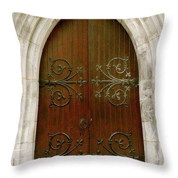 The Door Of Opportunity Throw Pillow