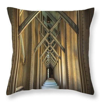 The Doorway Leading To... Throw Pillow