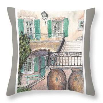 The Dora Maar Residency Throw Pillow