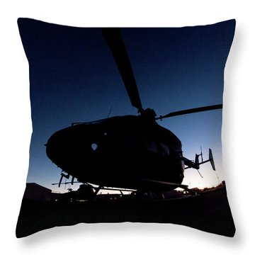 Throw Pillow featuring the photograph The Dot by Paul Job