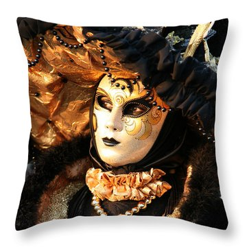 The Dotted Face Throw Pillow