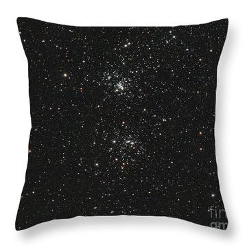 The Double Cluster Throw Pillow