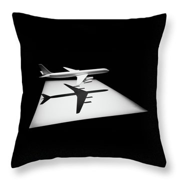 The Douglas Dc-8 Throw Pillow