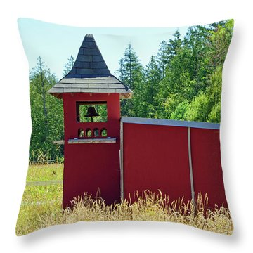 Throw Pillow featuring the photograph The Dove Loft by Tikvah's Hope