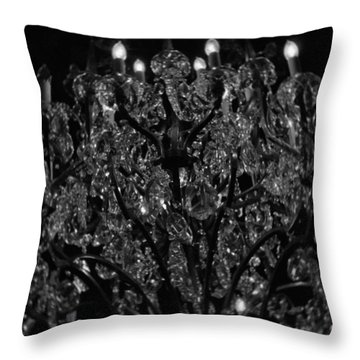 The Drake Chandelier Throw Pillow