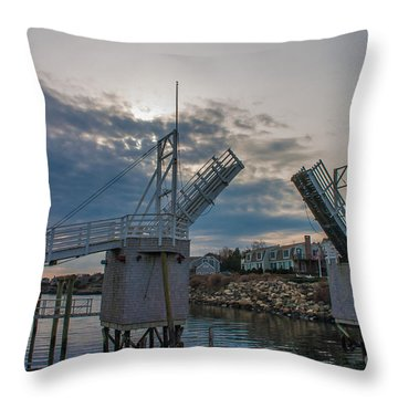 The Drawbridge Throw Pillow