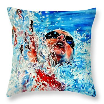The Dream Becomes Reality Throw Pillow