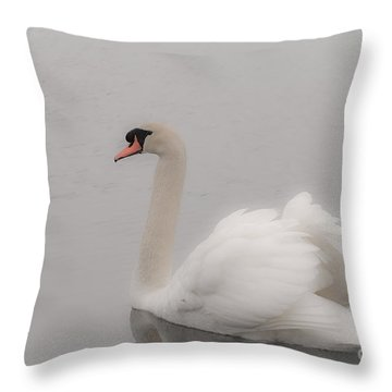 The Dream Throw Pillow by Charles Dobbs