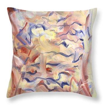 The Dream Stelae / Hatshepsut Throw Pillow