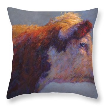 The Dreamer Throw Pillow by Susan Williamson