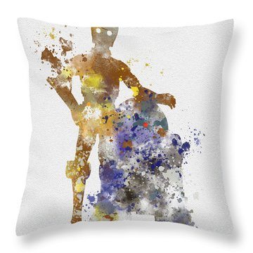 The Droids Throw Pillow