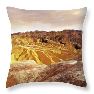 The Dry Lands Throw Pillow