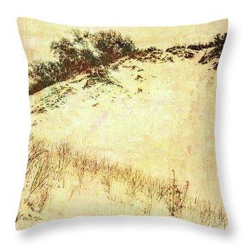 The Dunes Throw Pillow