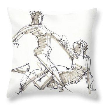 The Duo Throw Pillow