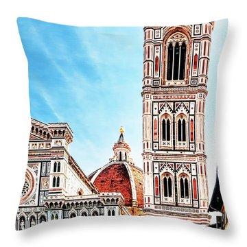 The Duomo Throw Pillow