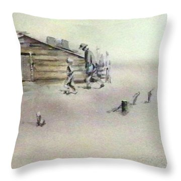 The Dustbowl Throw Pillow