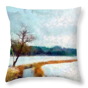 The Dyke Throw Pillow