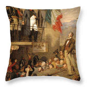 The Eagle's Flight Throw Pillow