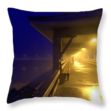 The Early Bird Throw Pillow