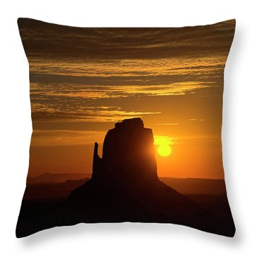The Earth Awakes Throw Pillow