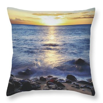 The Ebb And Flow Throw Pillow