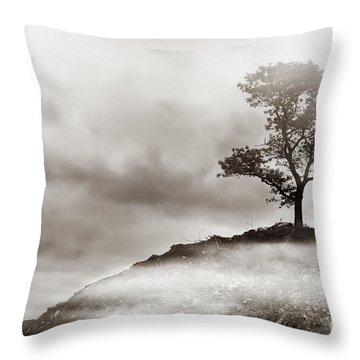 The Edge Of Never Throw Pillow