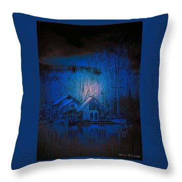The Edge Of Night Throw Pillow