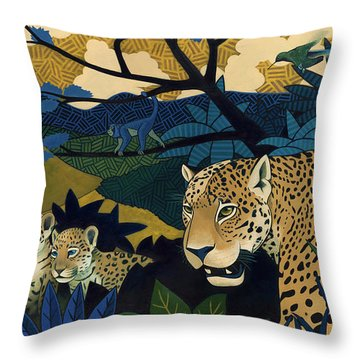 The Edge Of Paradise Throw Pillow