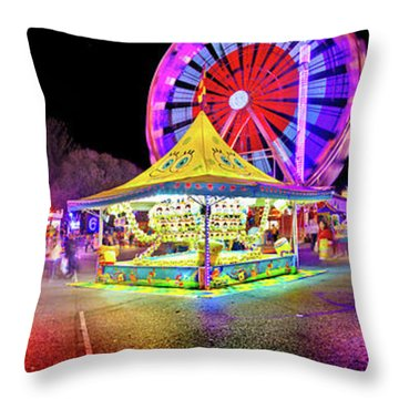 The Ekka Throw Pillow