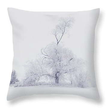 Throw Pillow featuring the photograph The Eldar Tree by Dustin LeFevre