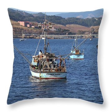 The Eleanore Marie Throw Pillow