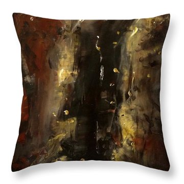 The Elements Earth #1 Throw Pillow