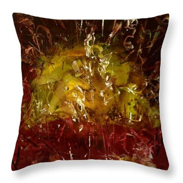 The Elements Earth #4 Throw Pillow