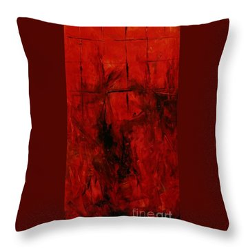 The Elements Fire #3 Throw Pillow