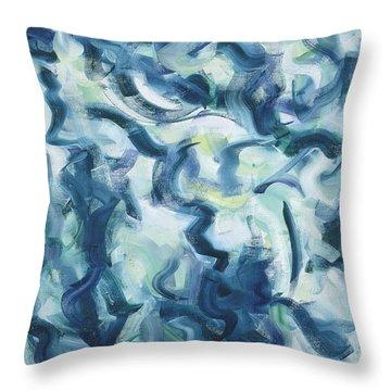The Elements, Mergo Mers Throw Pillow