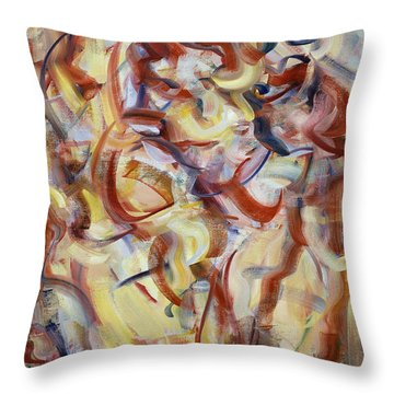 The Elements, Patior Pass Throw Pillow