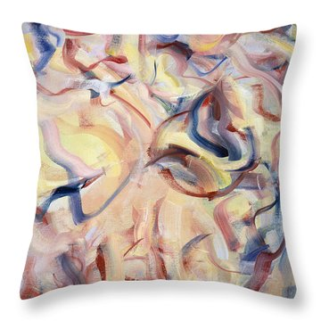 The Elements, The Breath Of Life Throw Pillow