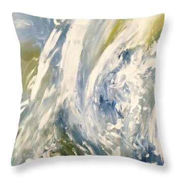 The Elements Water #1 Throw Pillow