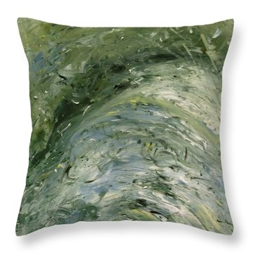 The Elements Water #6 Throw Pillow